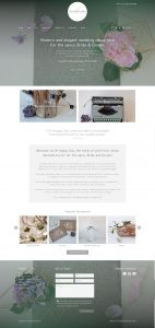 Bespoke WordPress Theme Developer Wedding Booking Website Sussex