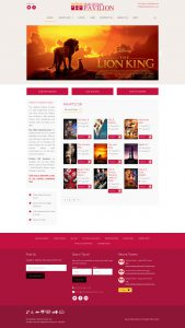 WordPress Custom Theme Development Cinema Booking